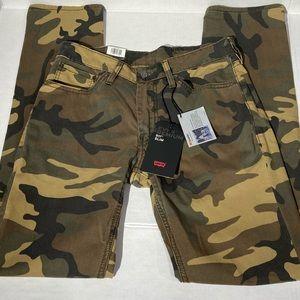 Levis 511 Slim Camo Jeans 3M Reflective Scotchlite